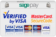SAFE SECURE SHOPPING POWERED BY SAGEPAY!