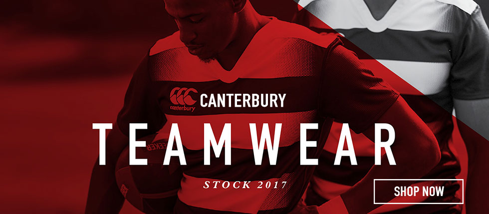 Canterbury Stock Teamwear Range 2017 | Teamwear UK