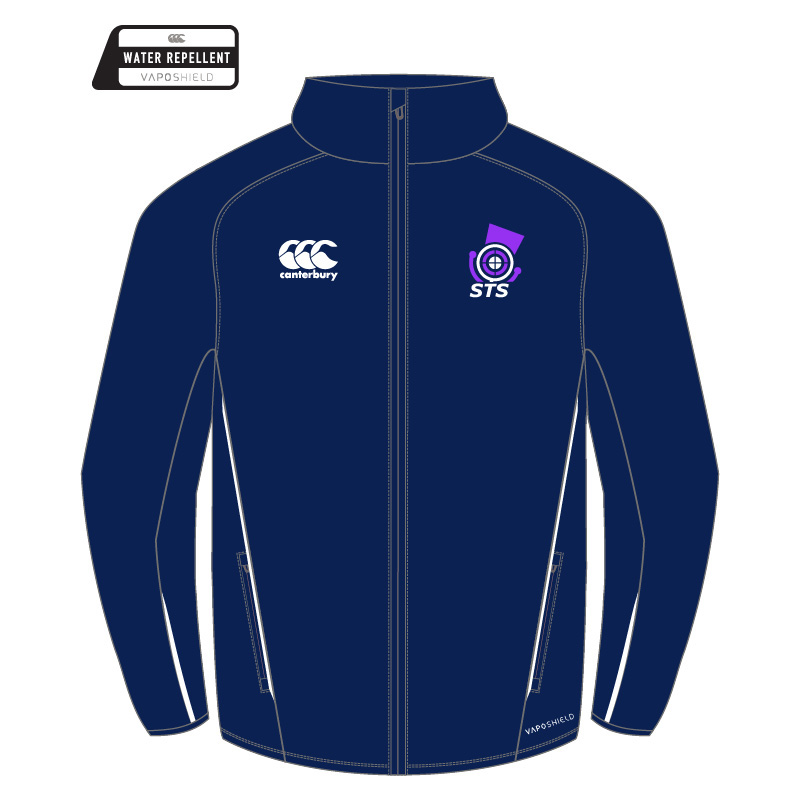 Navy Canterbury CCC Padded Stadium Jacket