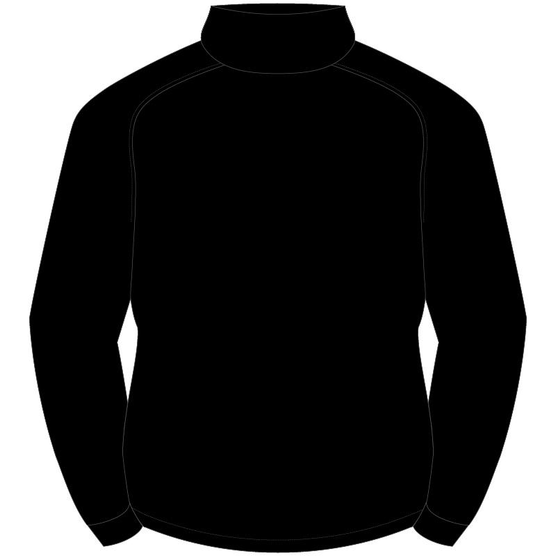 wltc team 1 4 zip mid layer training top black juniors. Black Bedroom Furniture Sets. Home Design Ideas