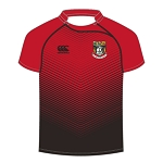 Waid Academy Advantx Sub Lithium Rugby Jersey Black/Flag Red Youth