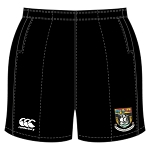 Waid Academy Professional Rugby Short Black Senior