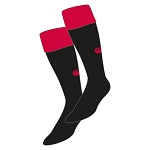 Waid Academy Team Cap Sock Black/Flag Red