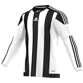 Adidas Striped 15 LS Jersey - White/Black