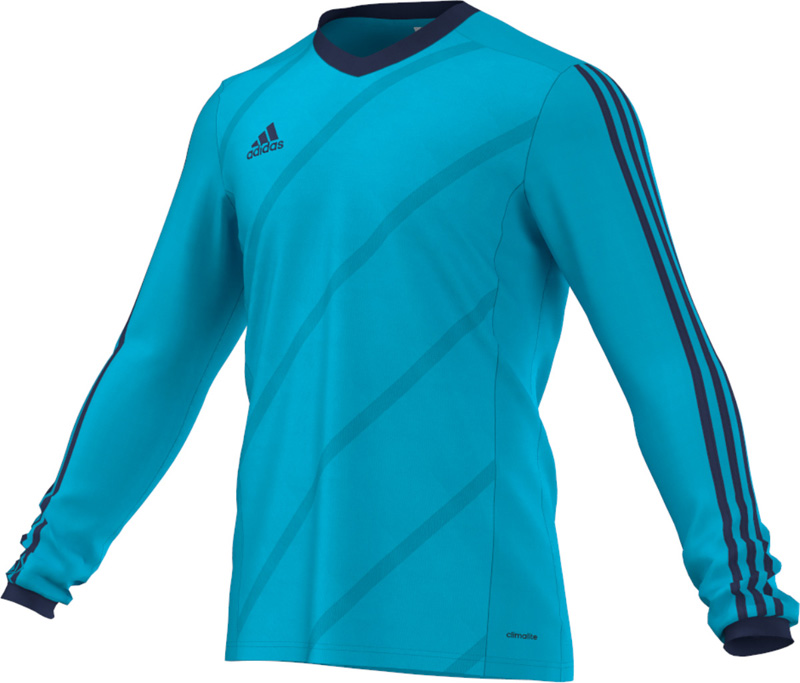 buy adidas striped shirt cyan. Black Bedroom Furniture Sets. Home Design Ideas