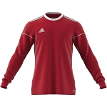 Adidas Squadra 17 LS Jersey - Power Red/White