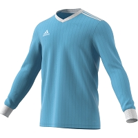 Adidas Tabela 18 LS Jersey - Clear Blue/White