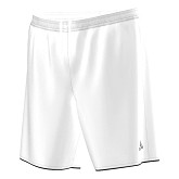 Adidas Parma Short Without Brief - White/Black