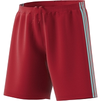 Adidas Condivo 18 Shorts - Power Red/Energy Aqua