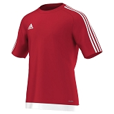 Adidas Estro 15 SS Jersey - Power Red/White