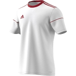 Adidas Squadra 17 SS Jersey - White/Power Red