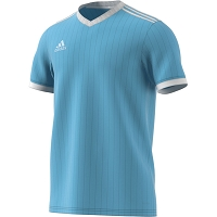 Adidas Tabela 18 SS Jersey - Clear Blue/White