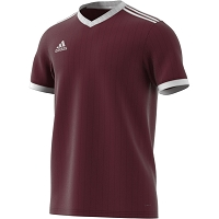 Adidas Tabela 18 SS Jersey - Maroon/White