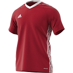 Adidas Tiro 17 SS Jersey - Power Red/White