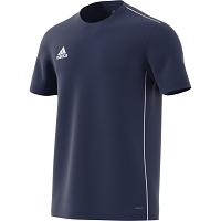adidas Core 18 Training Jersey - Dark Blue White d19e06efc