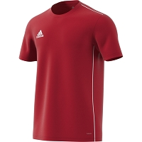 Adidas Core 18 Training Jersey - Power Red/White
