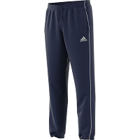 Adidas Core 18 Polyester Pant - Dark Blue/White