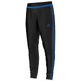 Adidas Tiro 15 Training Pant - Black/Bright Royal/Black