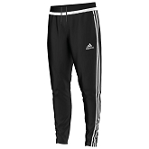 Adidas Tiro 15 Training Pant - Black/White/Black