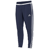 Adidas Tiro 15 Training Pant - Dark Blue/White/Dark Blue