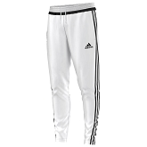 Adidas Tiro 15 Training Pant - White/Black/White