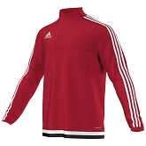 Adidas Tiro 15 Training Top - Power Red/White/Black