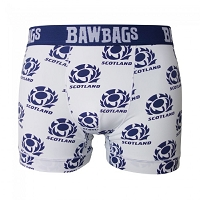 Bawbags Cool De Sacs - Scotland Rugby Away Boxer Shorts