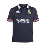 British & Irish Lions 2017 Training Pro Rugby Jersey Blue Youth