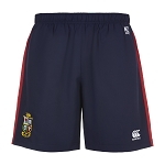 British & Irish Lions 2017 Woven Gym Shorts Blue Mens