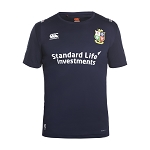 British & Irish Lions 2017 Vapodri Superlight Logo Tee Blue Mens