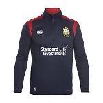 British & Irish Lions 2017 Thermoreg Fleece 1/4 Zip Navy Mens