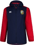 British & Irish Lions 2017 Vaposhield Full Zip Showerproof Jacket Navy Youth