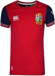 British & Irish Lions 2017 Vapodri Cotton Training Tee Red Kids