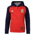 British & Irish Lions 2017 Kids Pullover Hoody Red