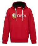 British & Irish Lions 2017 Pullover Hoody Red Senior