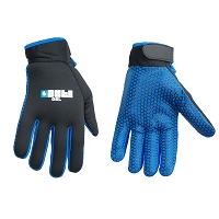 BYTE GEL GLOVES BLACK/BLUE