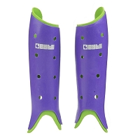 BYTE CLUB SHINGUARDS PURPLE/GREEN
