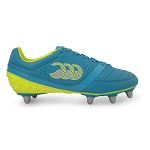 Canterbury Phoenix Blu/Yel 8 Stud SG Rugby Boots Adults