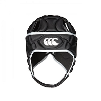 Canterbury Club Plus Headguard Black/Silver