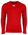 CCC Baselayer Cold LS Top Red