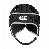 CCC Kids Club Plus Headguard - Black/Silver