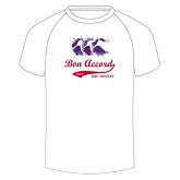 Aberdeen Bon Accord MBC Splatter T-Shirt White