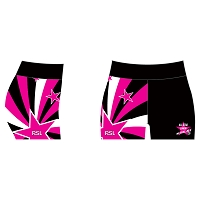 All Star Junior Netballers Sublimated Shorts