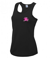 All Star Junior Netballers Black Vest