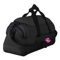 All Star Junior Netballers Black Holdall