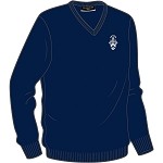 Allan Glens V-Neck Sweater