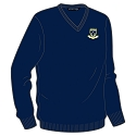 Ardrossan Accies RFC - V-Neck Lambswool Sweater