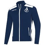 Arthurlie FC Nixi Full Zip Track Top Navy/White Senior