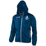 Arthurlie FC Praia Full Zip Windbreaker Navy/Grey Junior