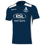 Arthurlie FC Sirius Training T-Shirt Navy/White Senior